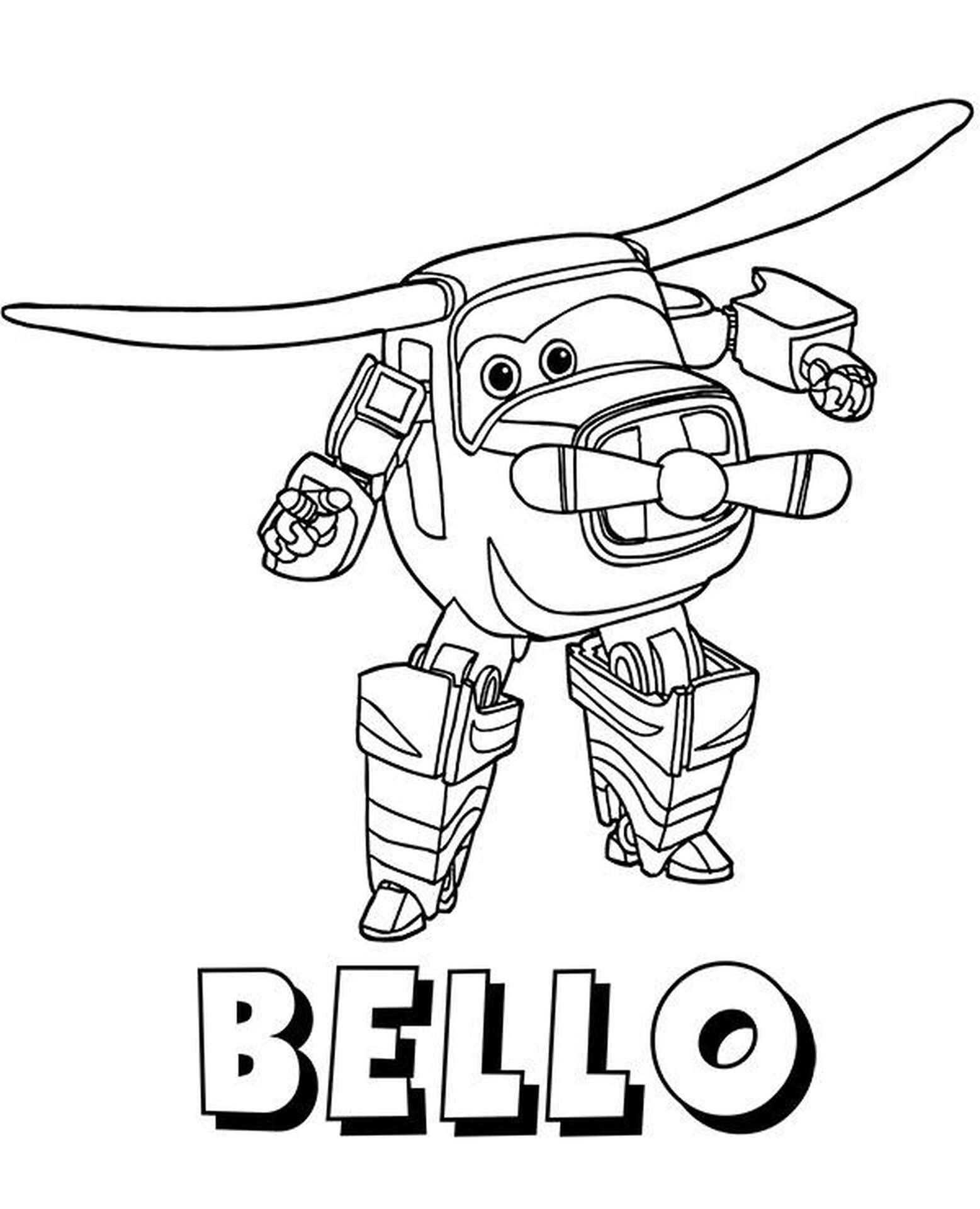 Bello Coloring Page