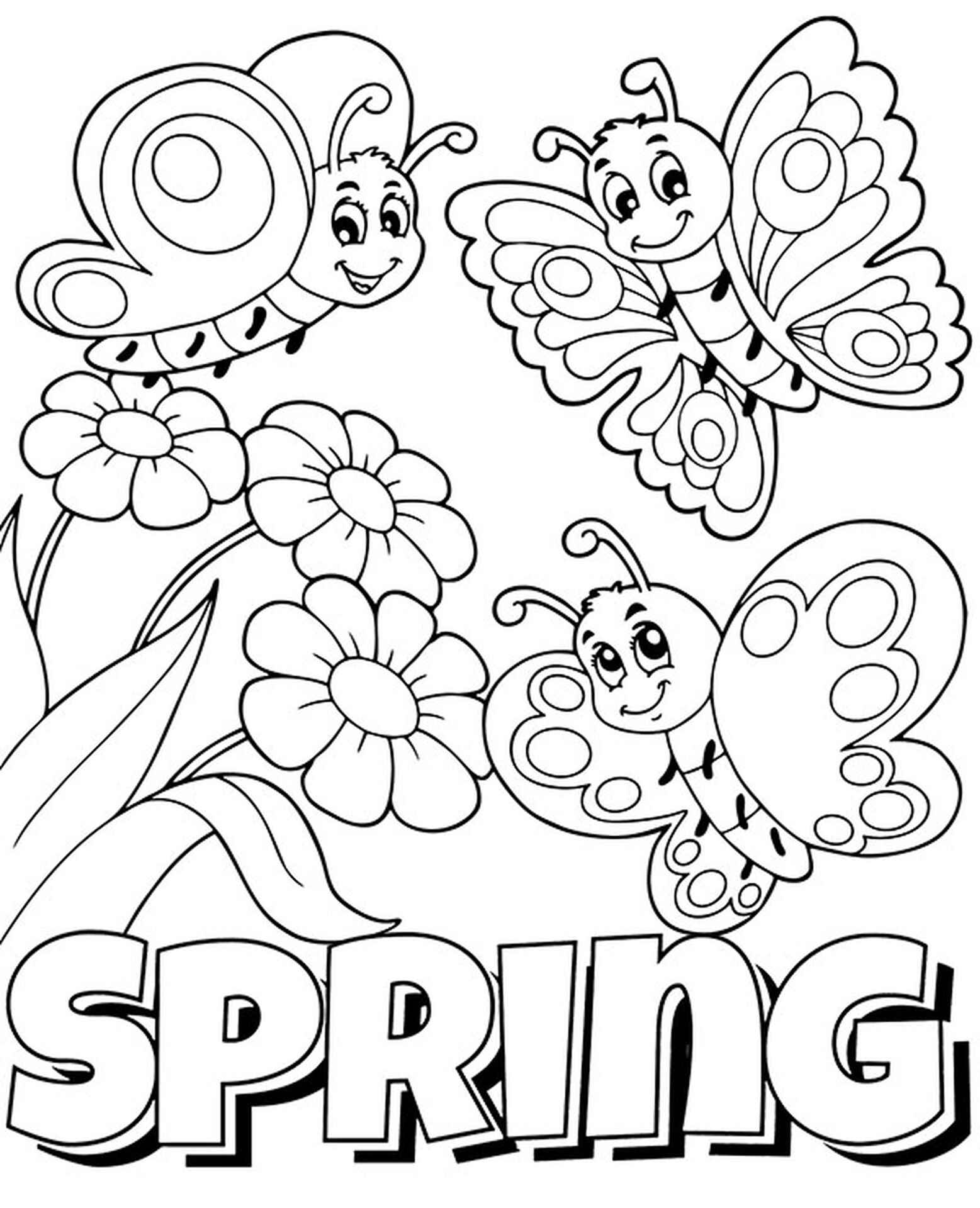 Butterflies And Spring Logo