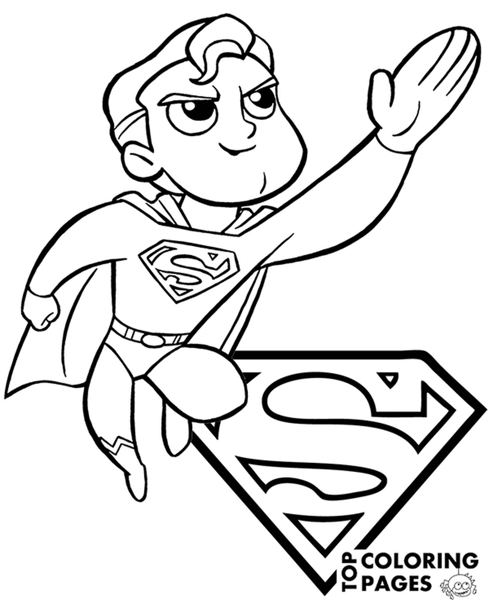 Cartoon Style Coloring Pages