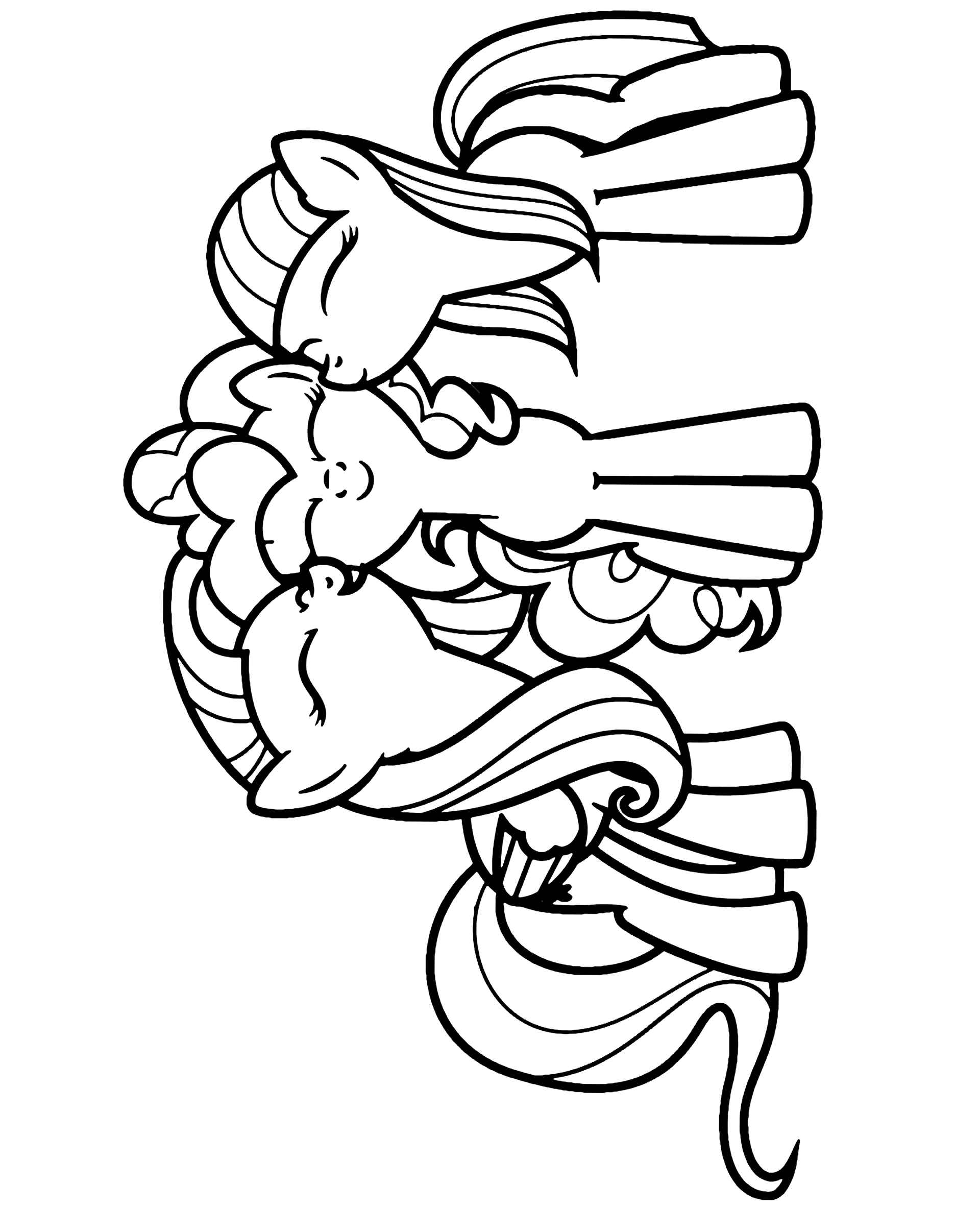 Coloring Sheet Pinkie Pie, Twilight And Fluttershy Hug