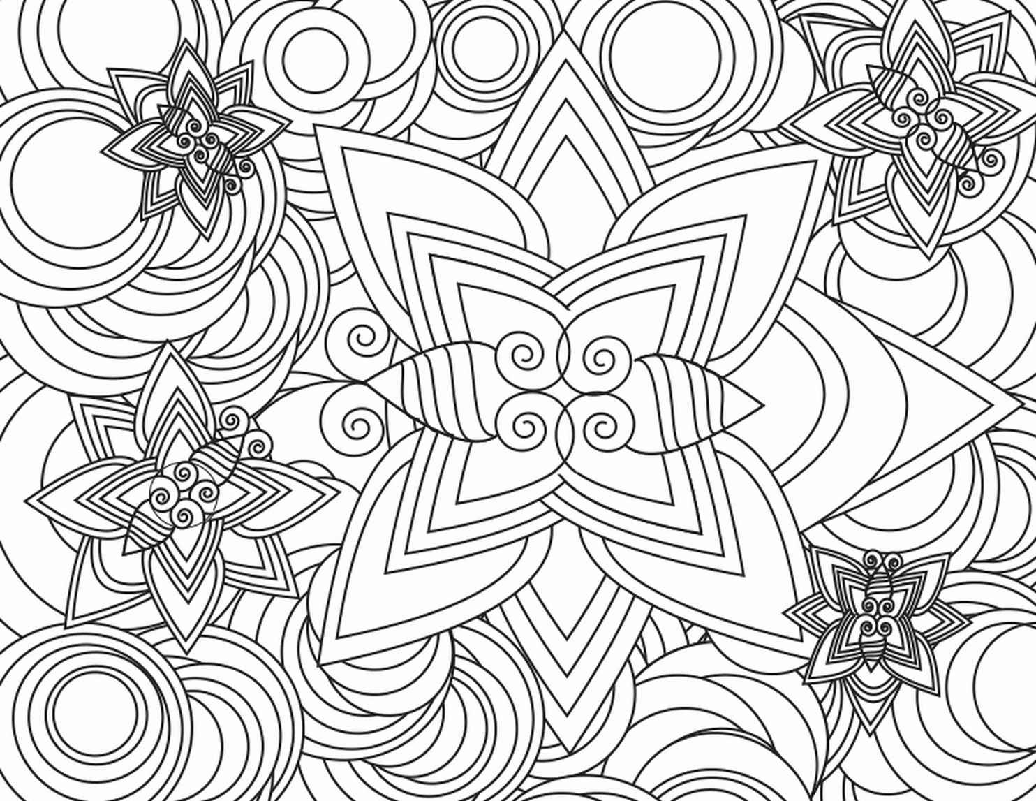 Cool Flowers To Color For Adults