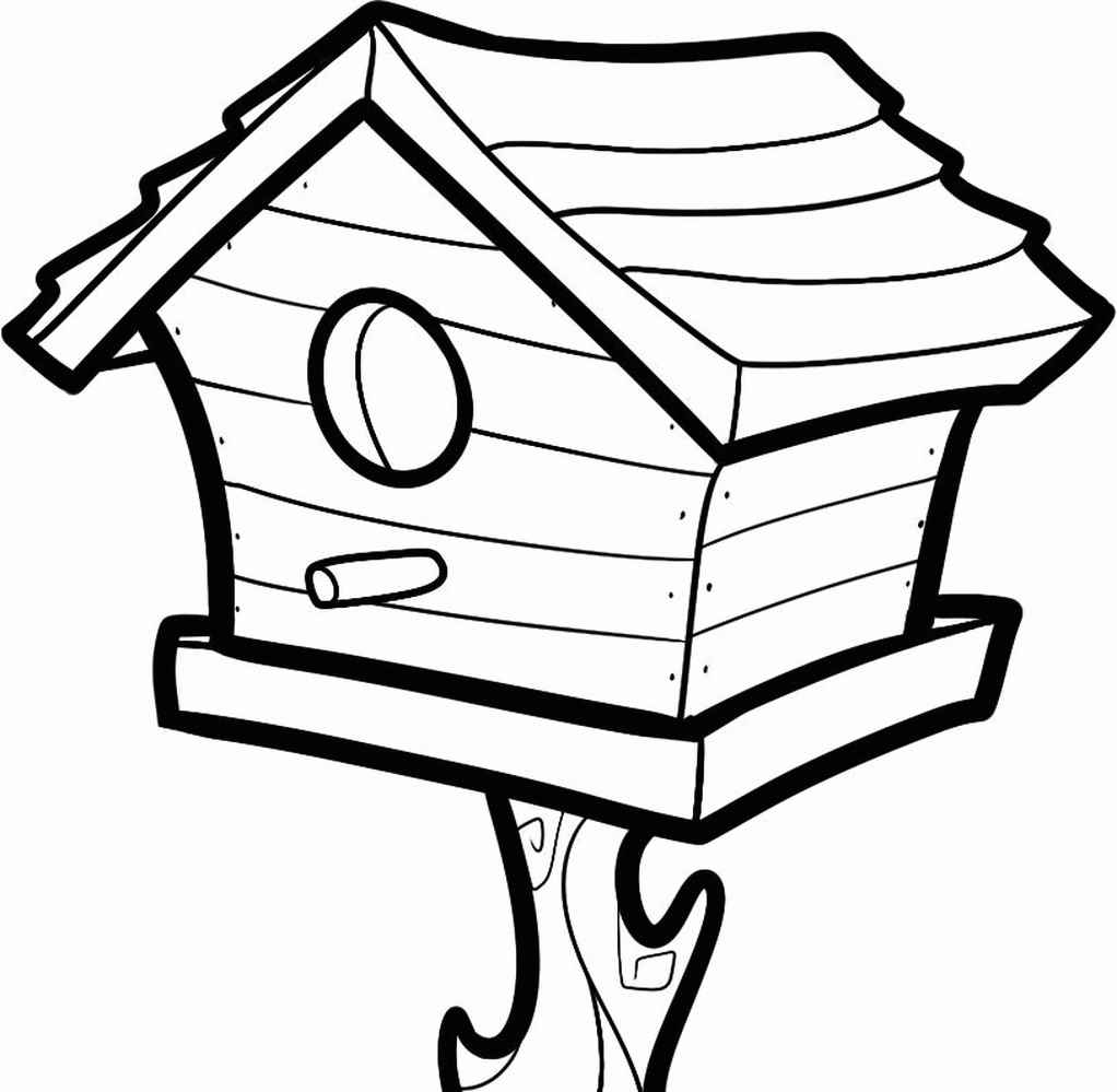 Detailed Birdhouse For Kids