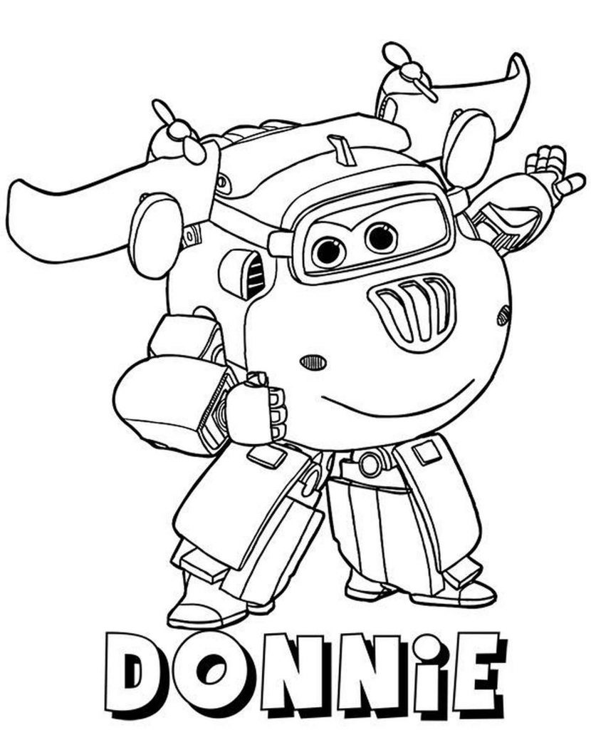 Donnie Coloring Page