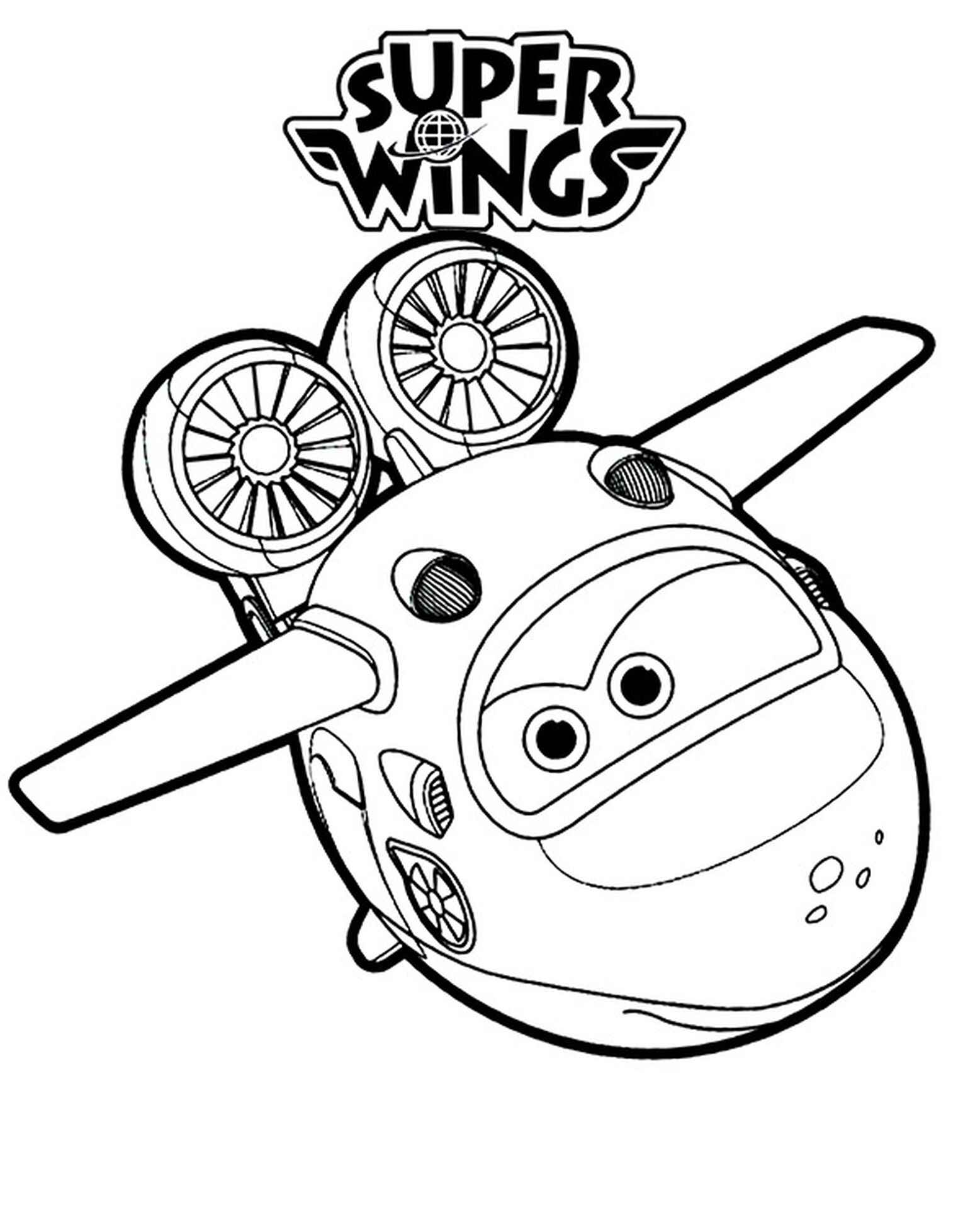 Flying Mira Coloring Books