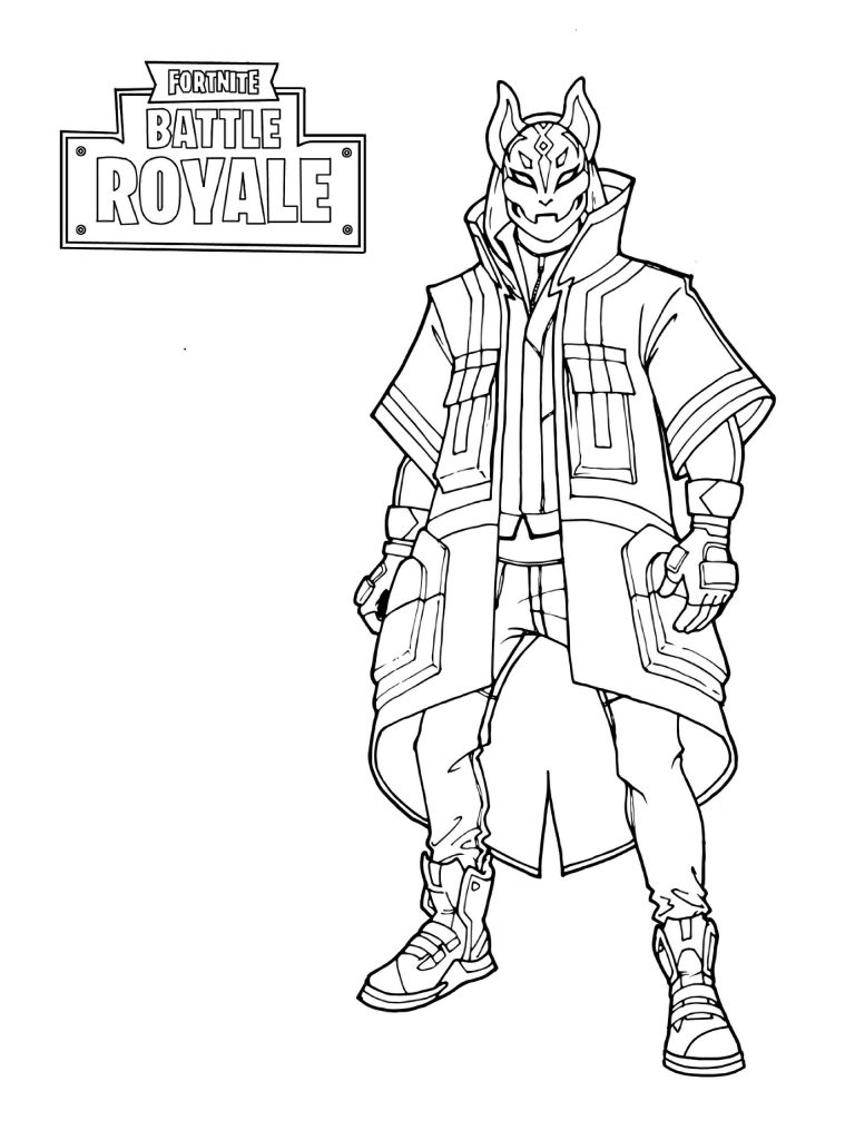 Free Fortnite Coloring Sheets In Coloring