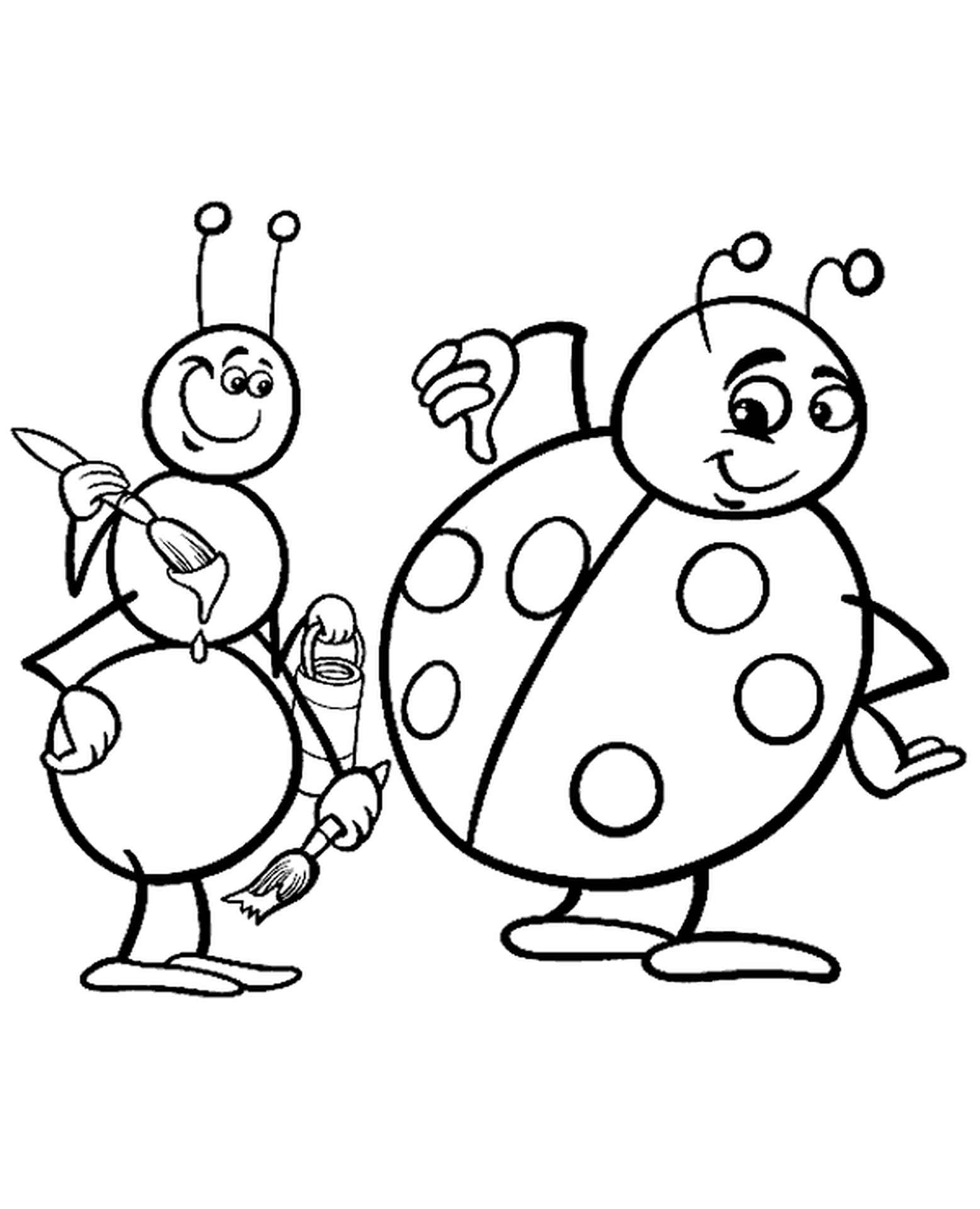 Funny Picture Of Bugs For Children