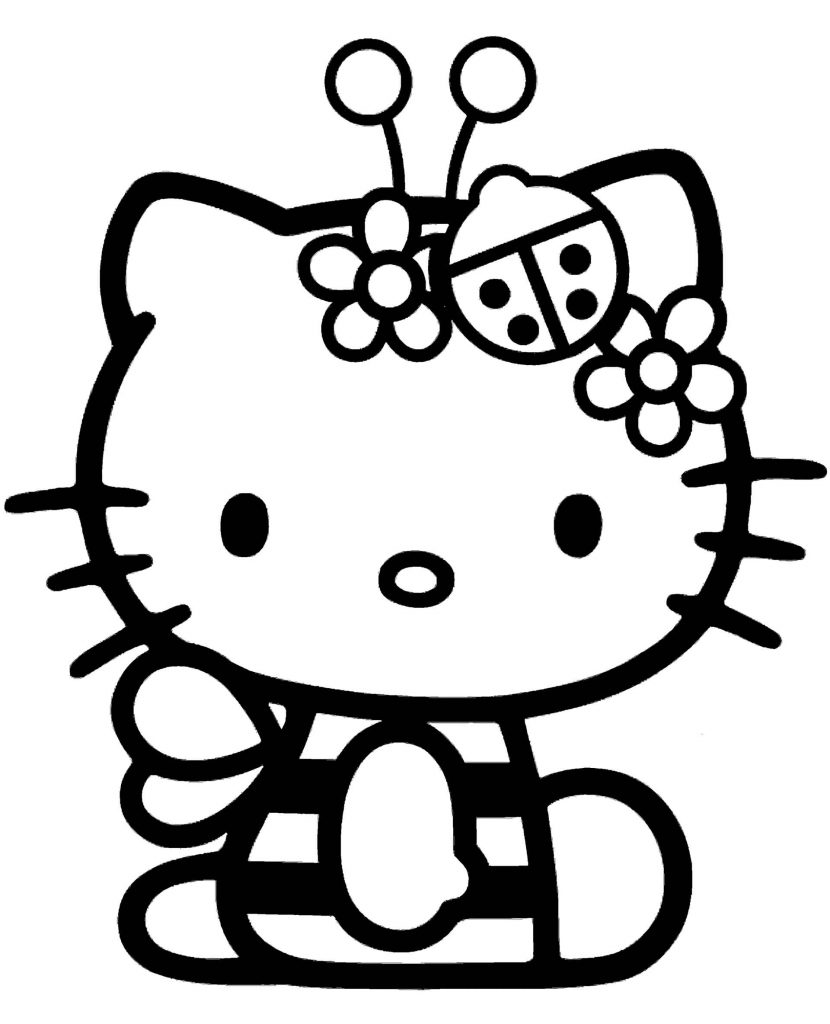 Hello Kitty In A Bee Costume