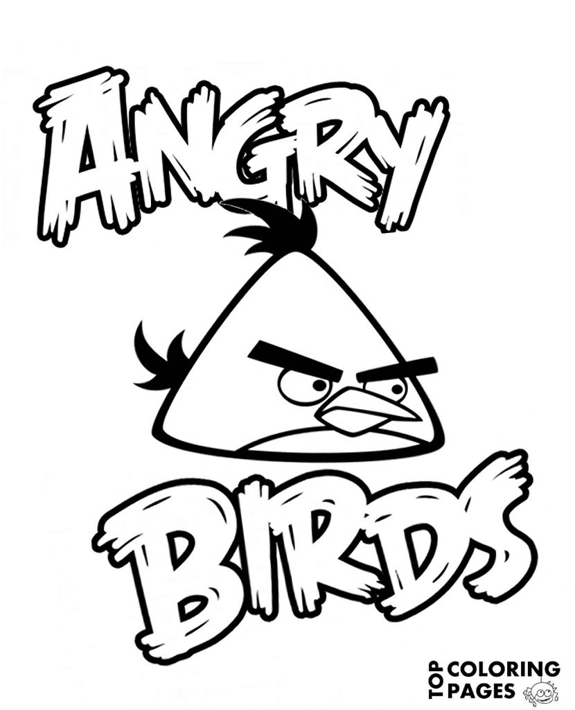 Image Of Angry Chuck From The Game Angry Birds Is Flying Fast