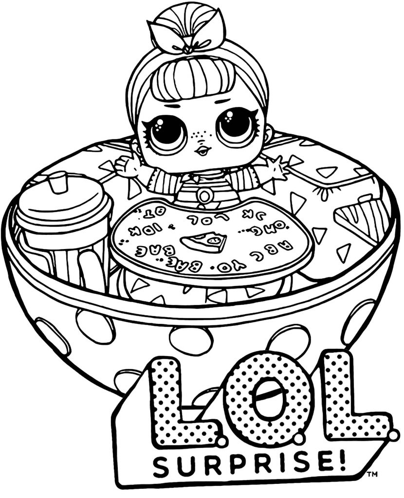 Image Of Doll In A Balli From L.O.L. Suprise