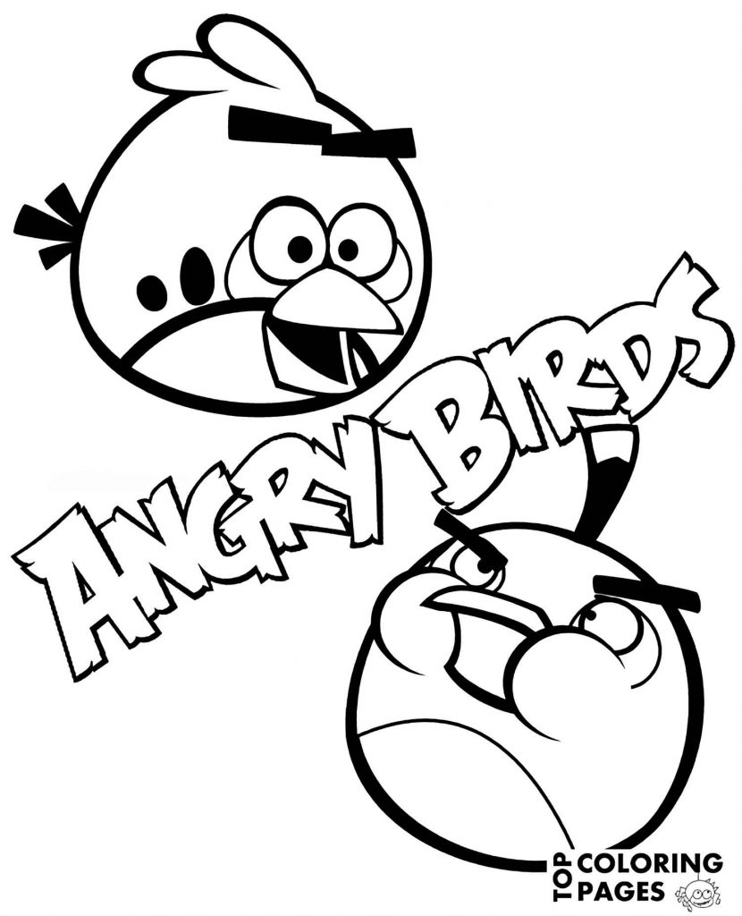 Image Of Happy Red And Bomb From The Game Angry Birds
