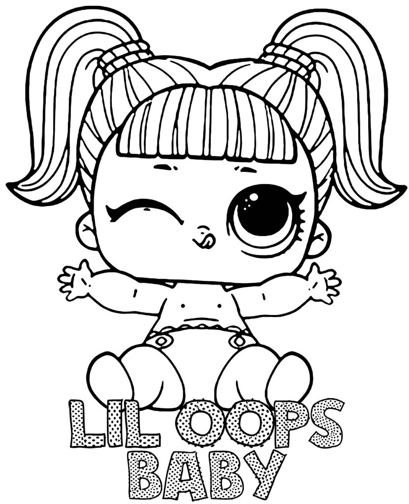 Image Of Lil Oops Baby Doll From L.O.L. Suprise