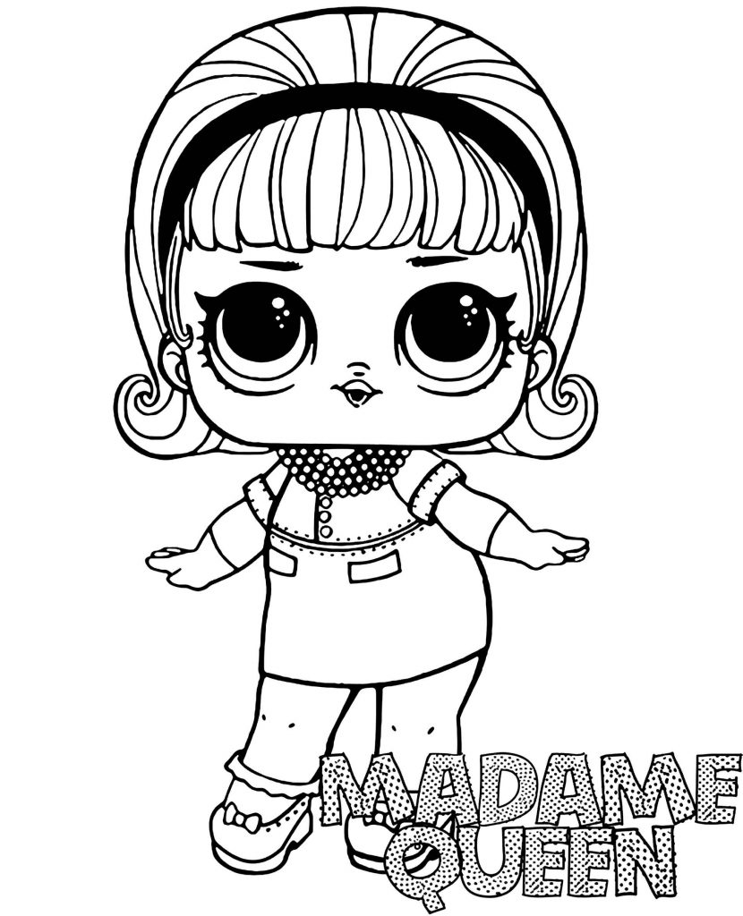 Image Of Madame-Queen Doll From L.O.L. Suprise