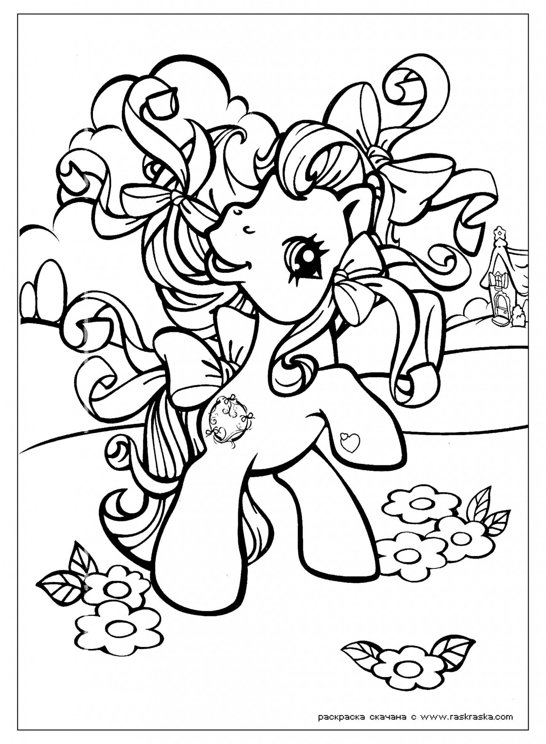 Image Of Playing Fluttershy With Ribbons In Her Mane