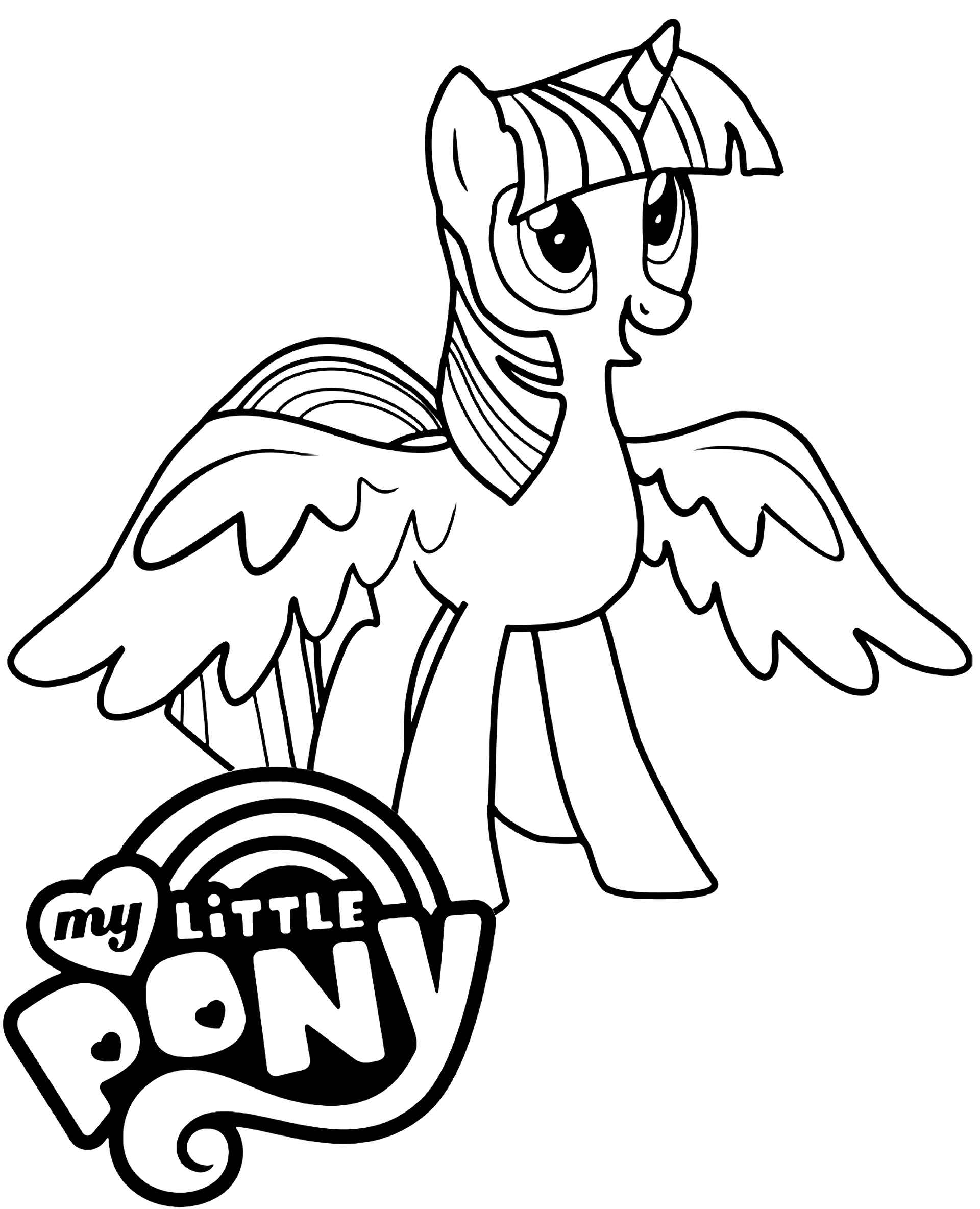 Image Of Pony Sparkle Spread Her Wings With The Logo