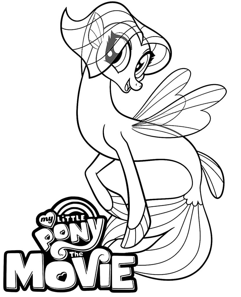 Image Of Smiling Pony Mermaid Queen Novo With Logo