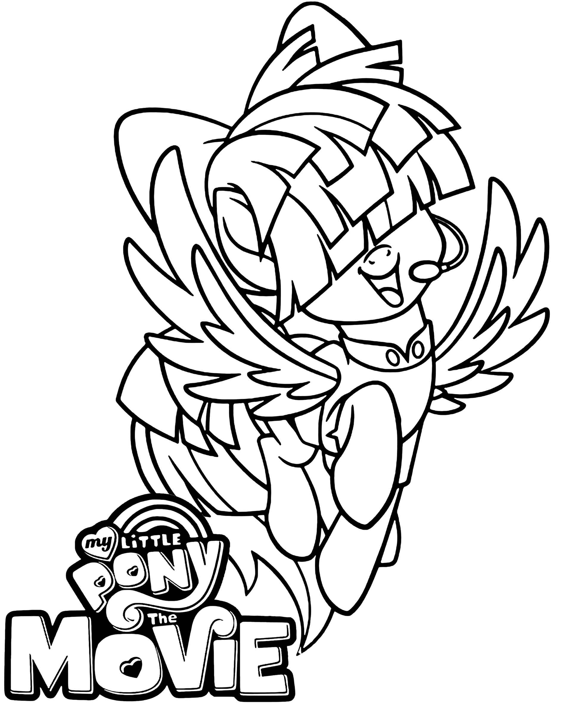 Image Of Smiling Songbird Serenade From My Little Pony