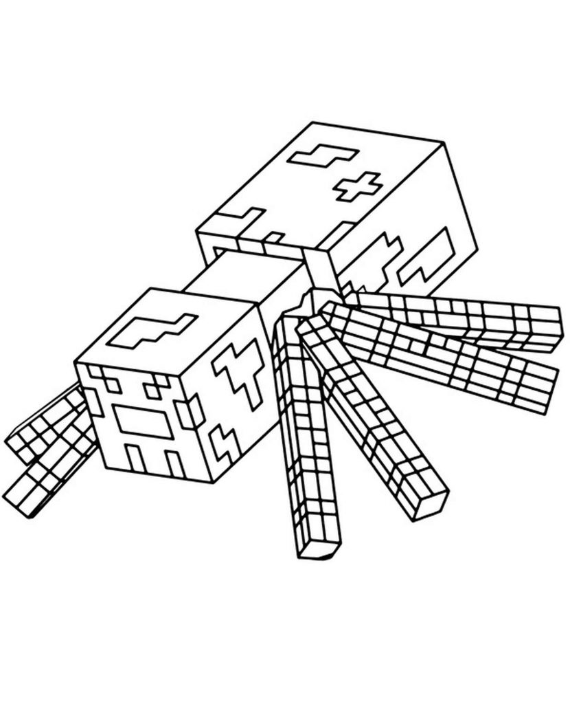 Image Of Spider Mob For Minecraft