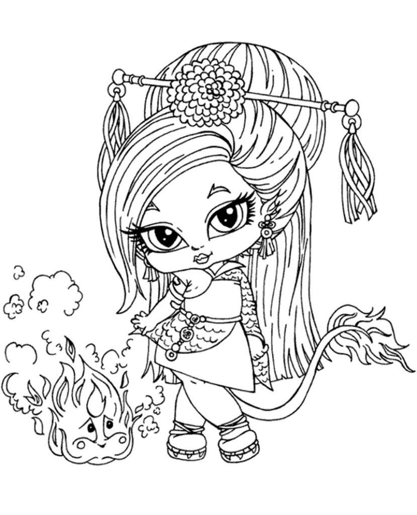 Image Of Young Student Of The School Monster High