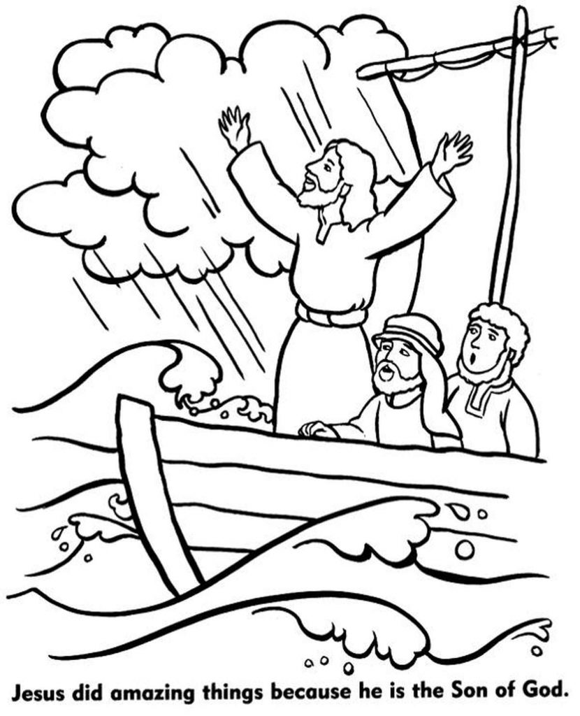 Jesus Saved Fishers From The Storm