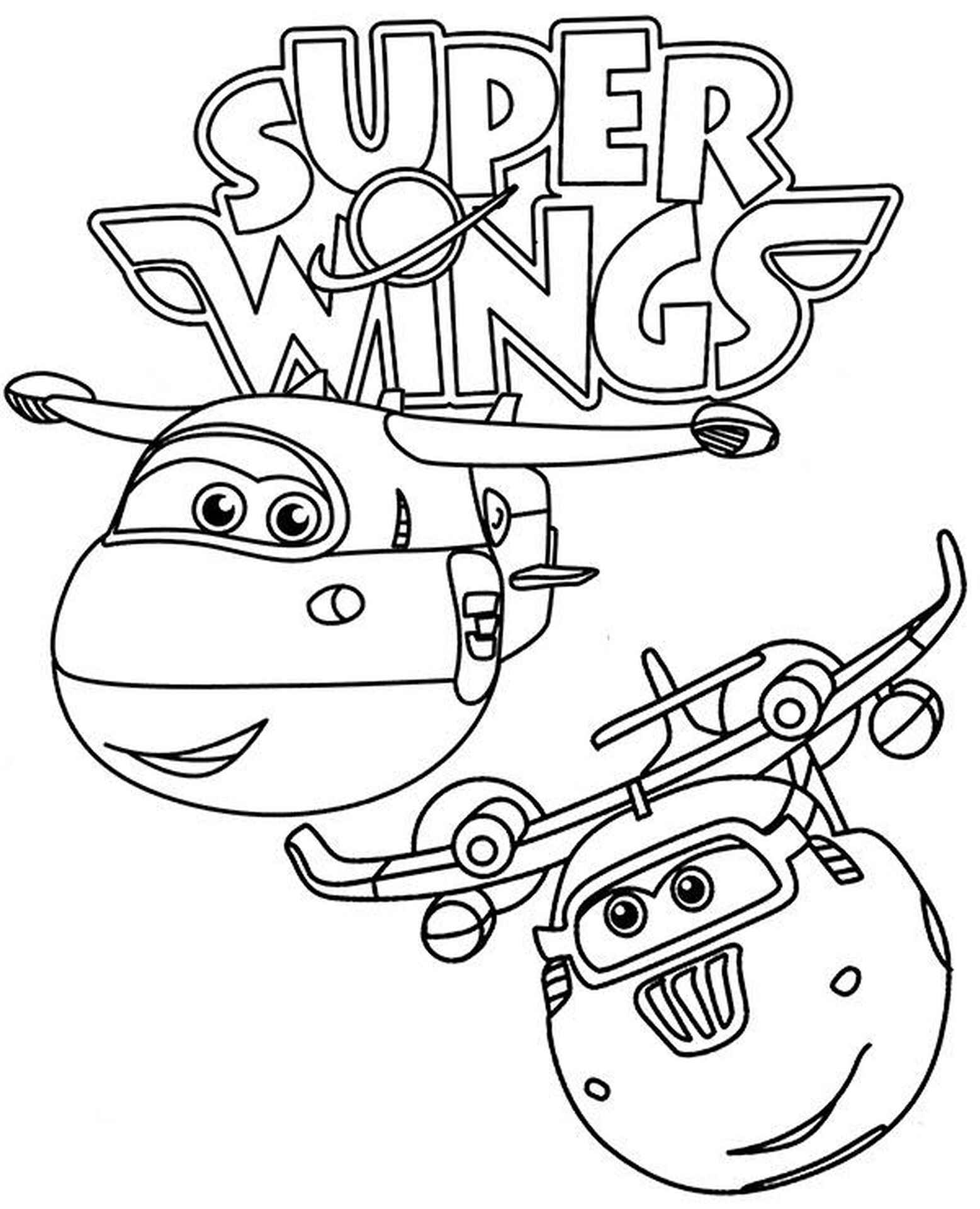 Jett And Donnie Coloring Page