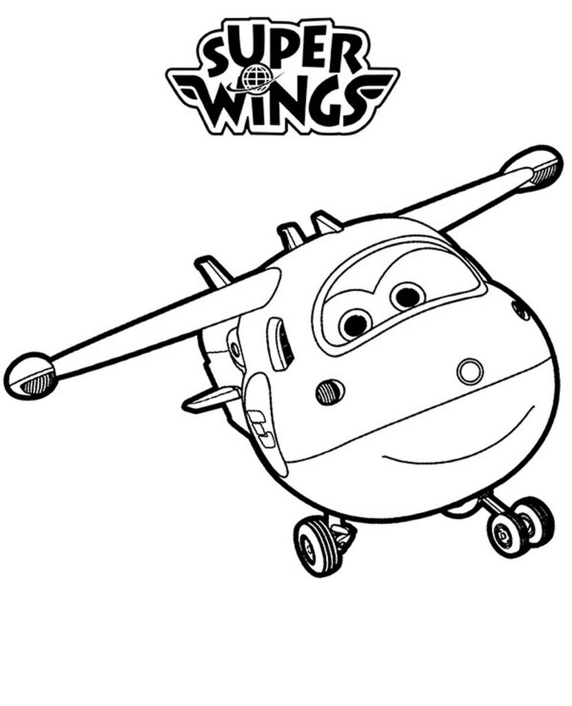 Jett And Super Wings Logo