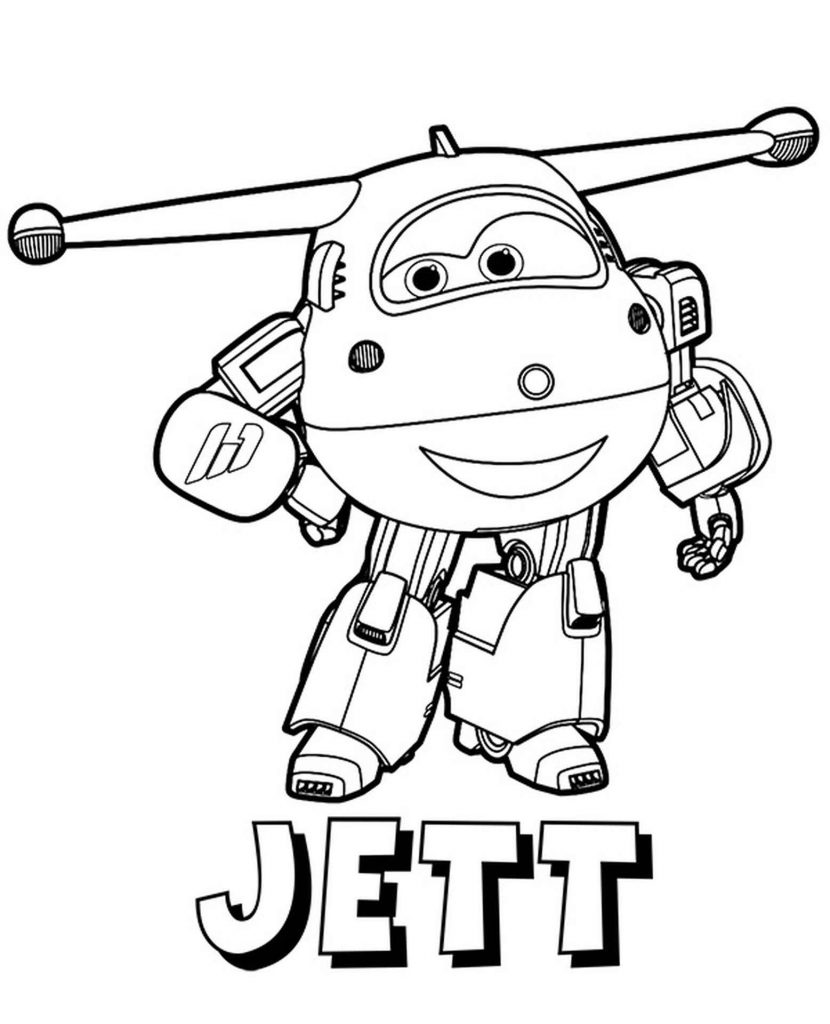 Jett Coloring Page