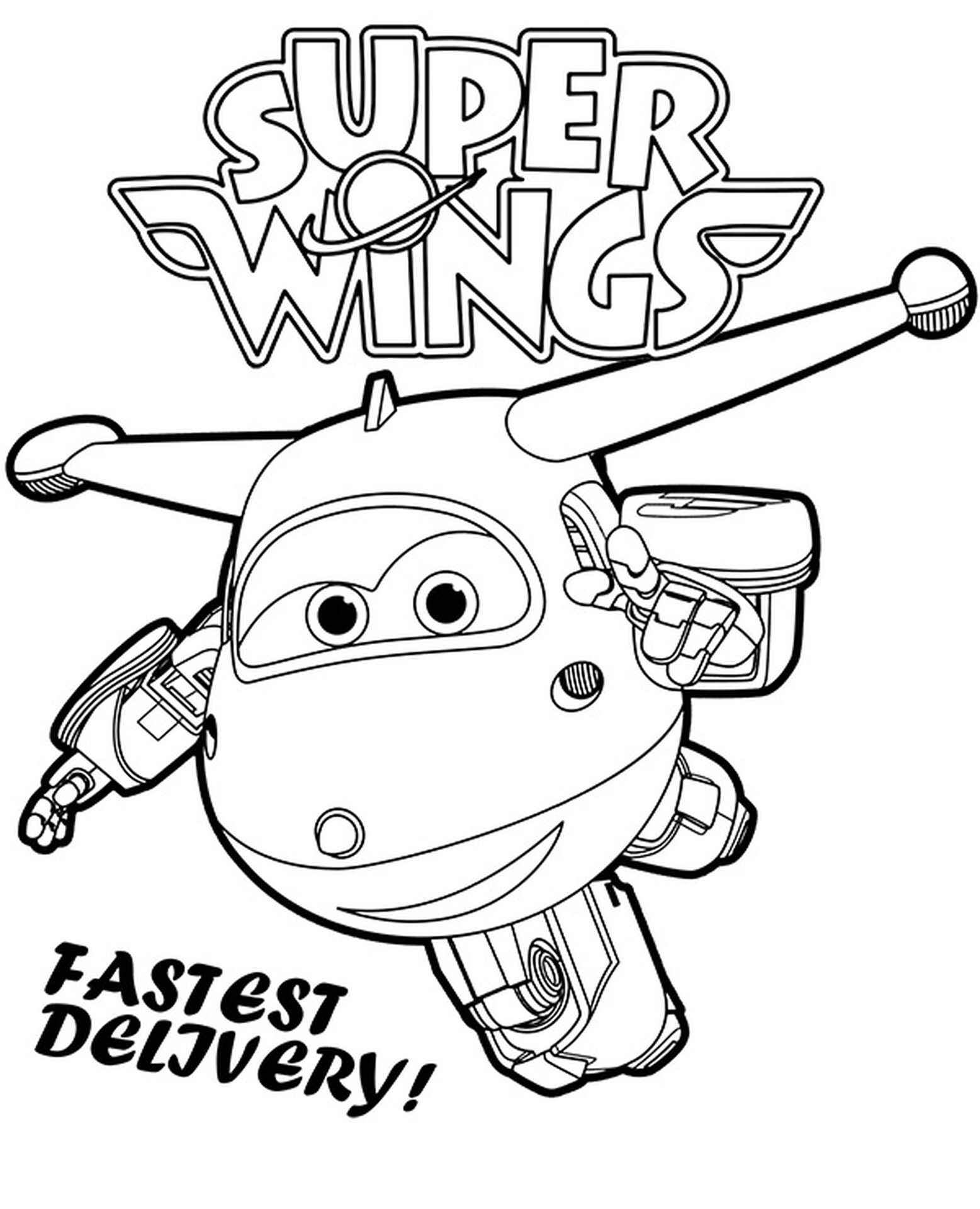 Jett Super Wings Picture