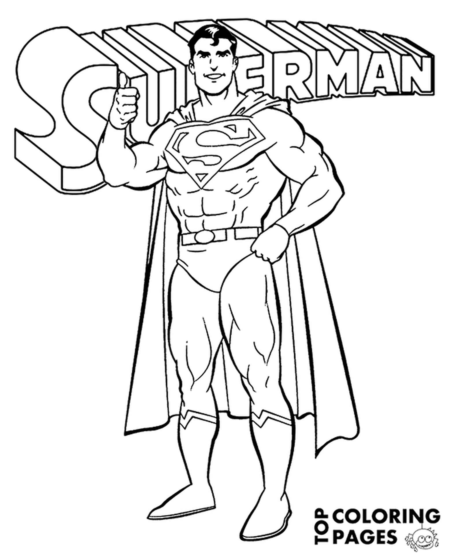 Man Of Steel To Color