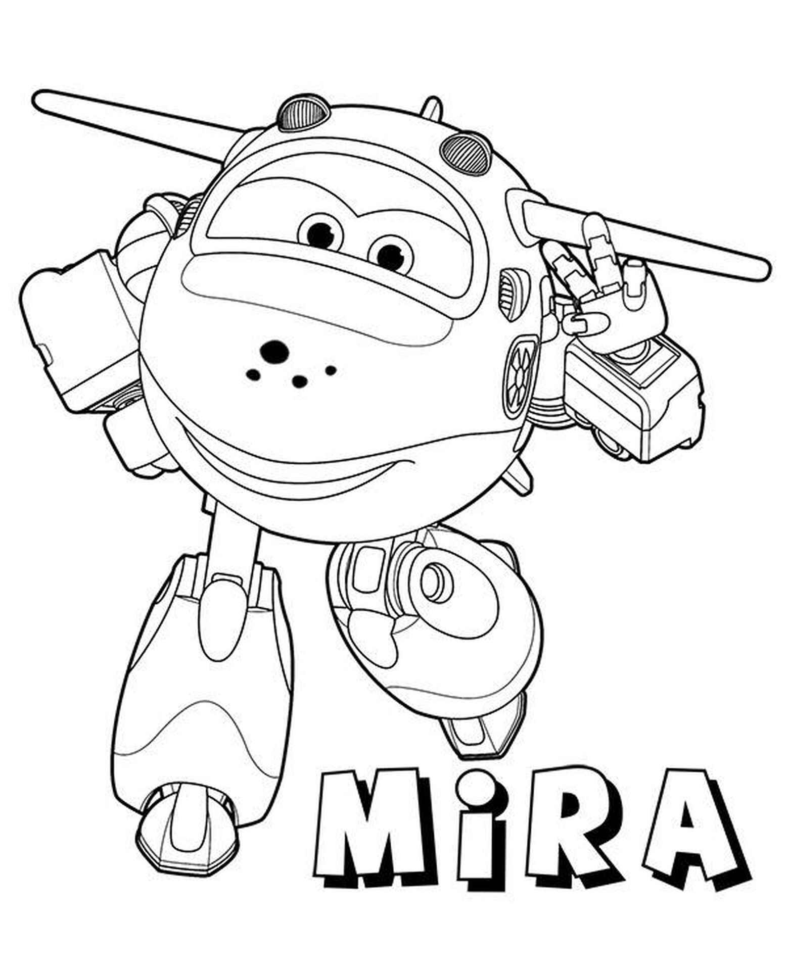 Mira Coloring Page