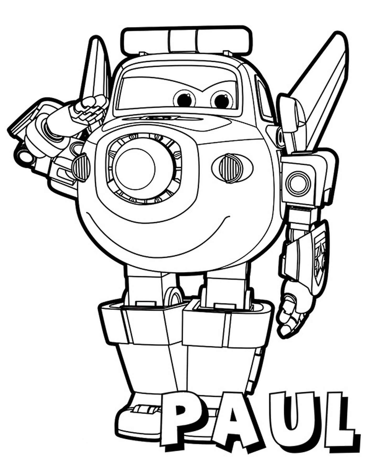 Paul Coloring Page