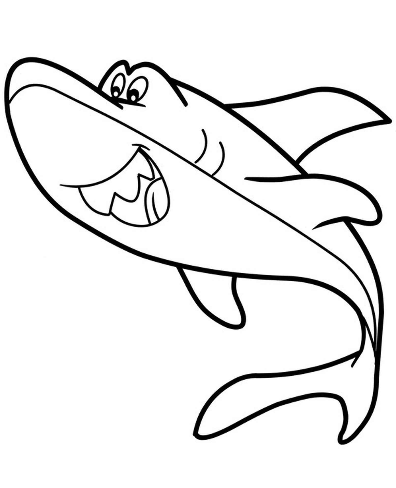 Shark Cartoon Image