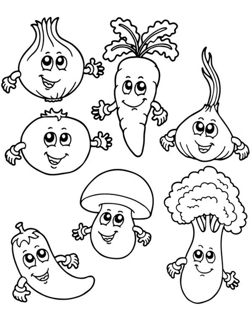 Simple Coloring Page