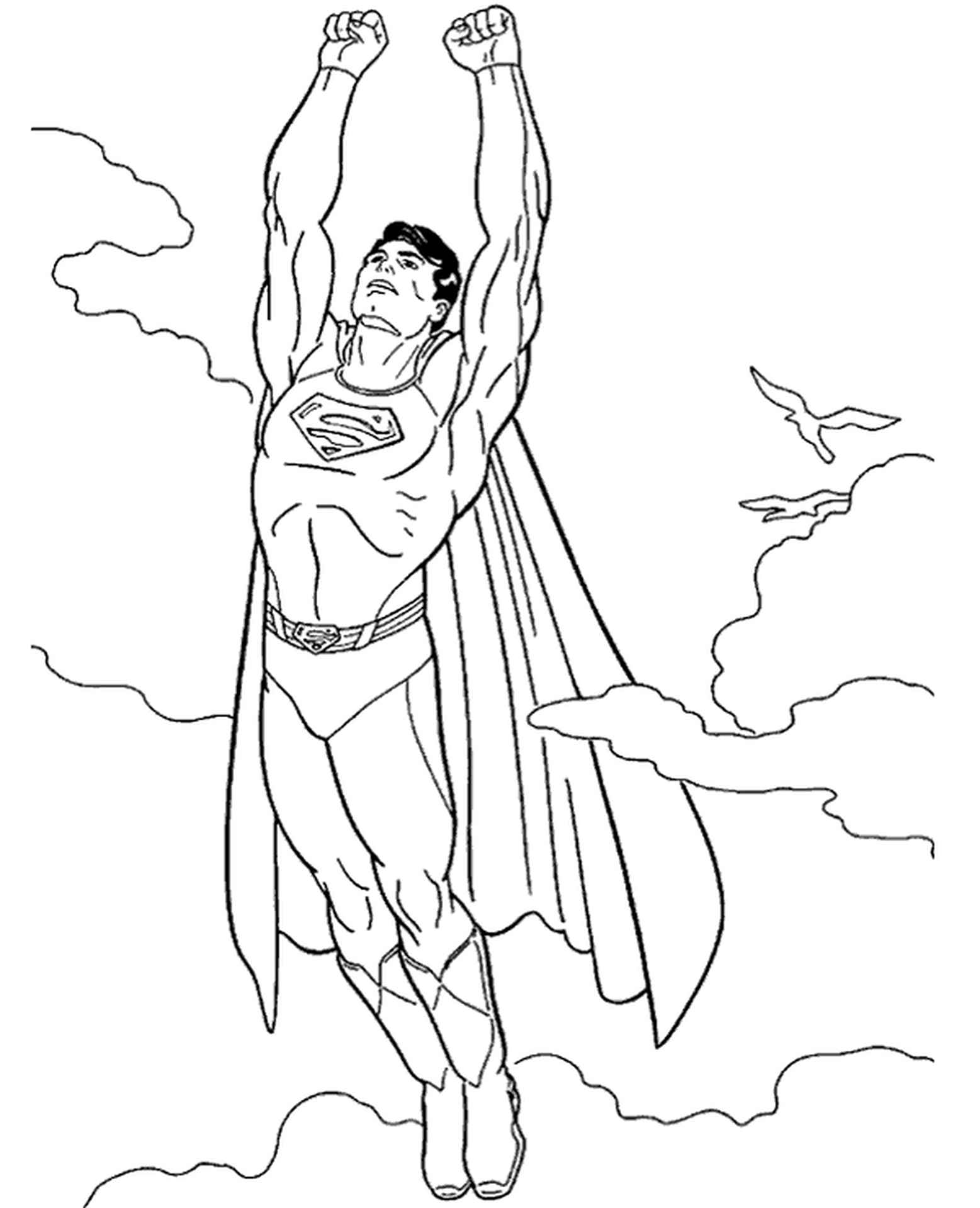 Superman In The Sky