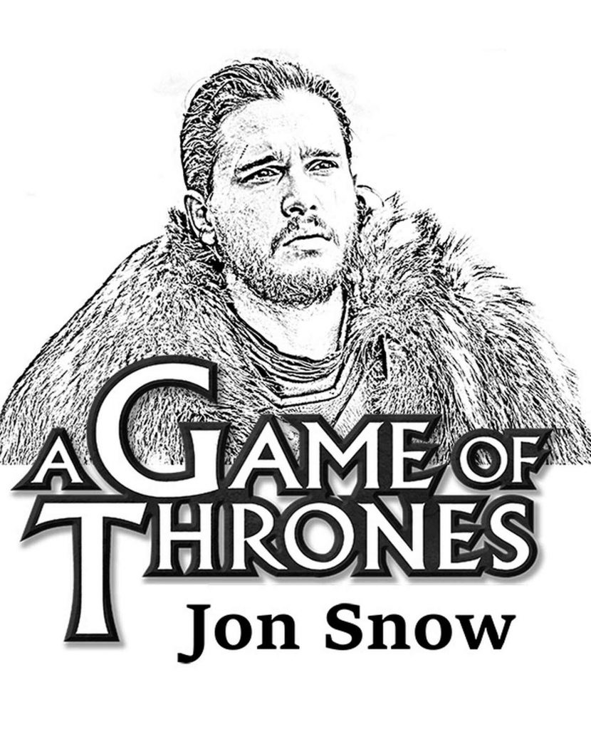 The Brooding Jon Snow From Game Of Thrones