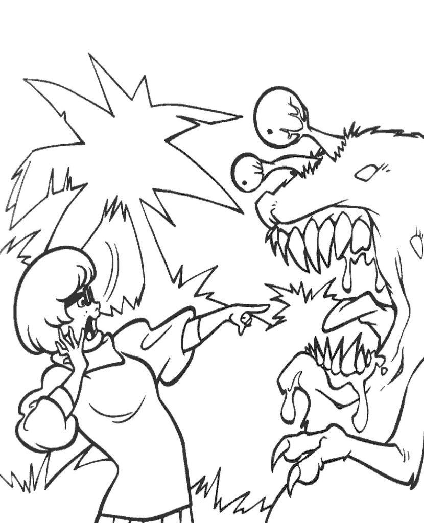 Velma Coloring Page To Print