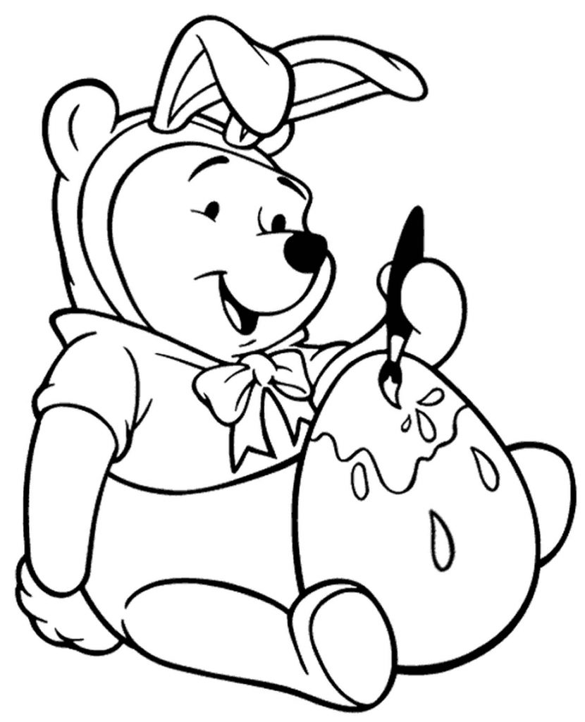 Winnie The Pooh Easter Picture