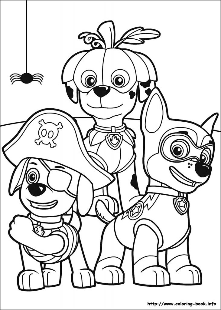 Zuma Martial Chase Dressed Up Paw Patrol Coloring Pages